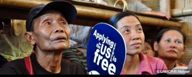 การตั้งถิ่นฐานใหม่ของผู้ลี้ภัยชาวพม่า