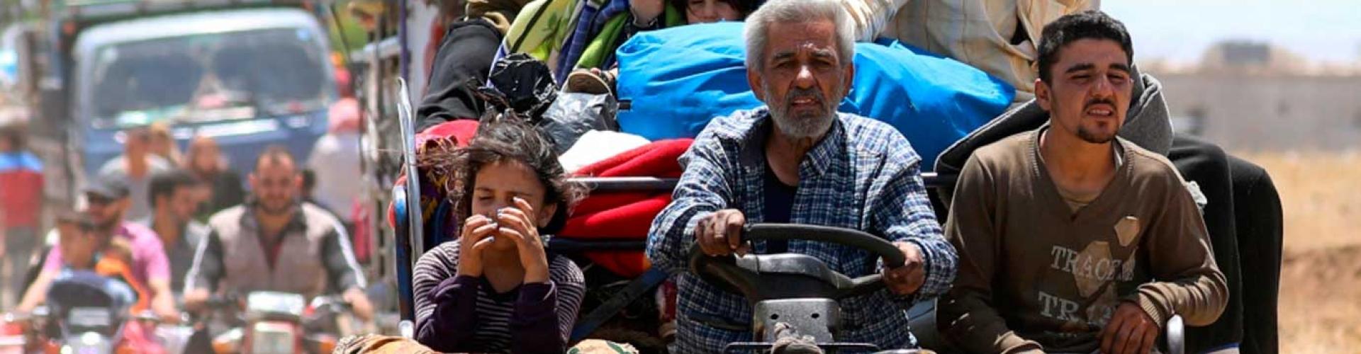 คำแถลงโดยนายฟิลลิปโป กรันดี ข้าหลวงใหญ่ UNHCR เกี่ยวกับสถานการณ์ทางตะวันตกเฉียงใต้ของซีเรีย