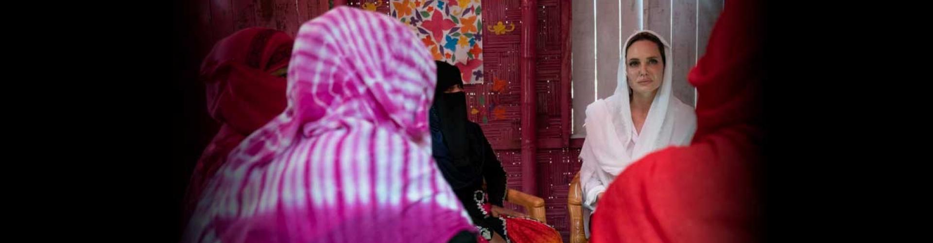 แองเจลิน่า โจลี ทูตพิเศษฯ UNHCR สรุปภารกิจการลงพื้นที่ที่ประเทศบังคลาเทศ