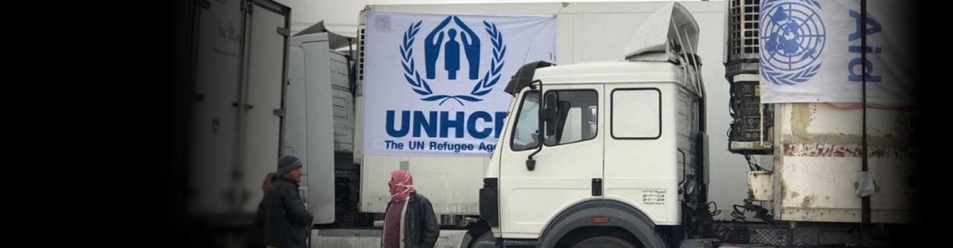 ขบวนความช่วยเหลือที่ใหญ่ที่สุดมุ่งหน้าสู่ค่าย Rukban ประเทศซีเรีย