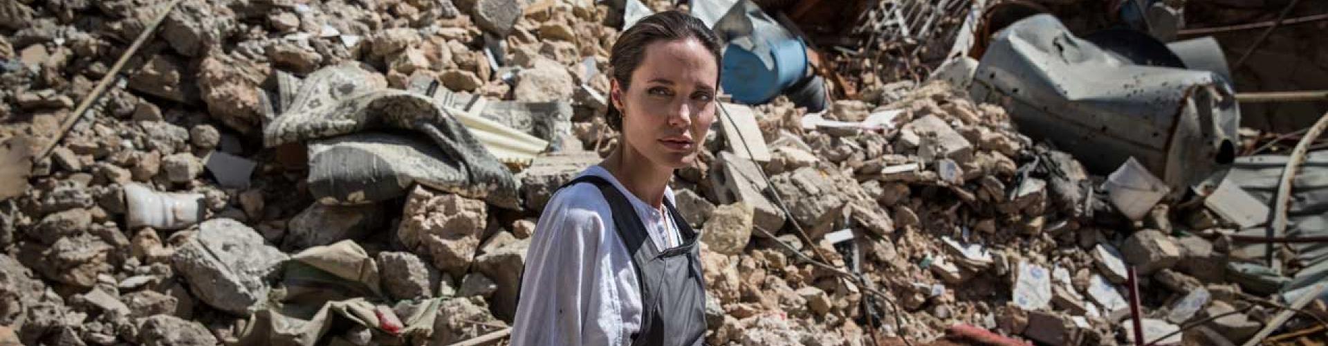 Statement by UNHCR Special Envoy Angelina Jolie at Domiz refugee camp in Iraq.