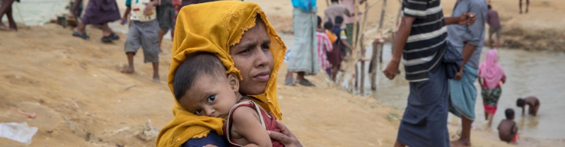 UNHCR เร่งแก้ปัญหาการระบาดของโรคท้องร่วง ในค่ายผู้ลี้ภัยประเทศบังคลาเทศ