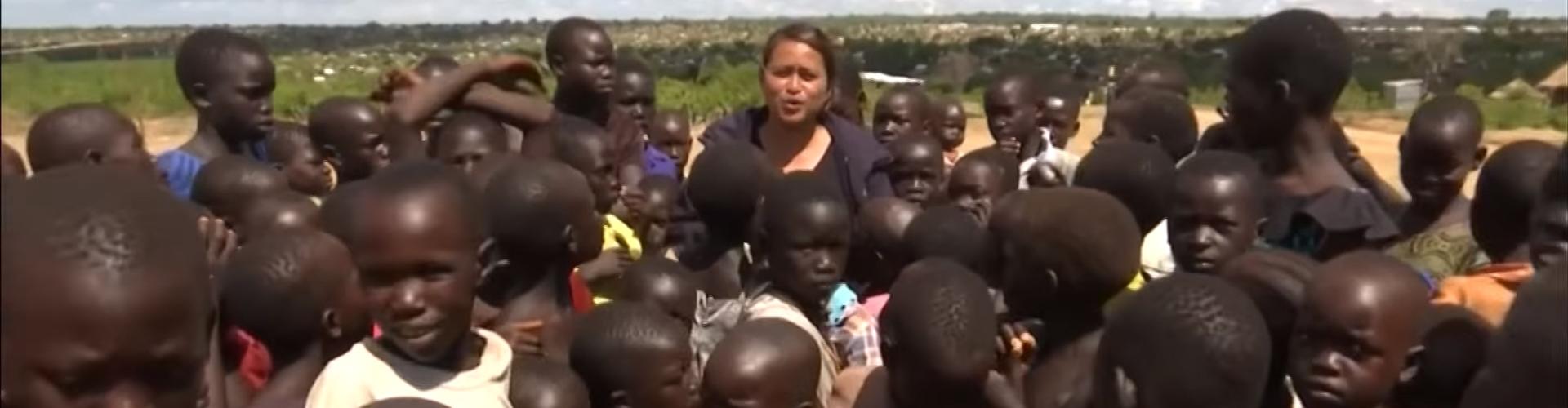 ค่ายผู้ลี้ภัยที่ใหญที่สุดในโลกที่ยูกันดากับการช่วยเหลือวิกฤติผู้ลี้ภัยซูดานใต้จากสงครามและความอดอยาก