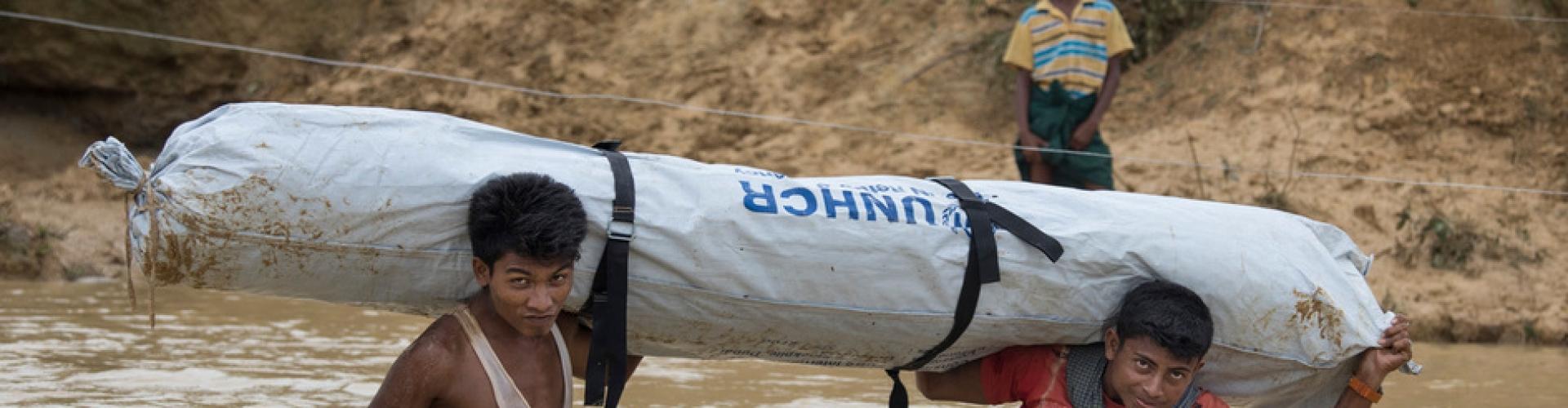สถานการณ์ฉุกเฉินผู้ลี้ภัยที่บังคลาเทศ