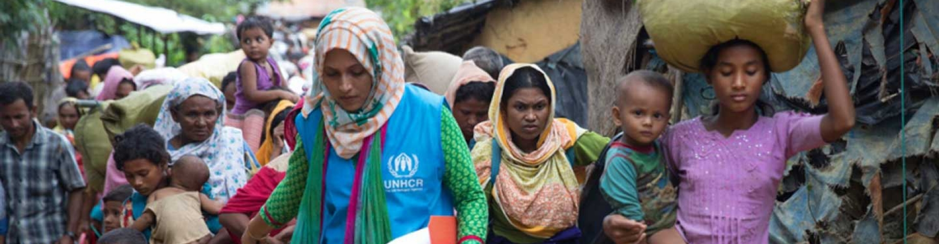 'For as long as I can, I want to be with UNHCR' Meet Shirin Aktar, a protection officer who works in Bangladesh.