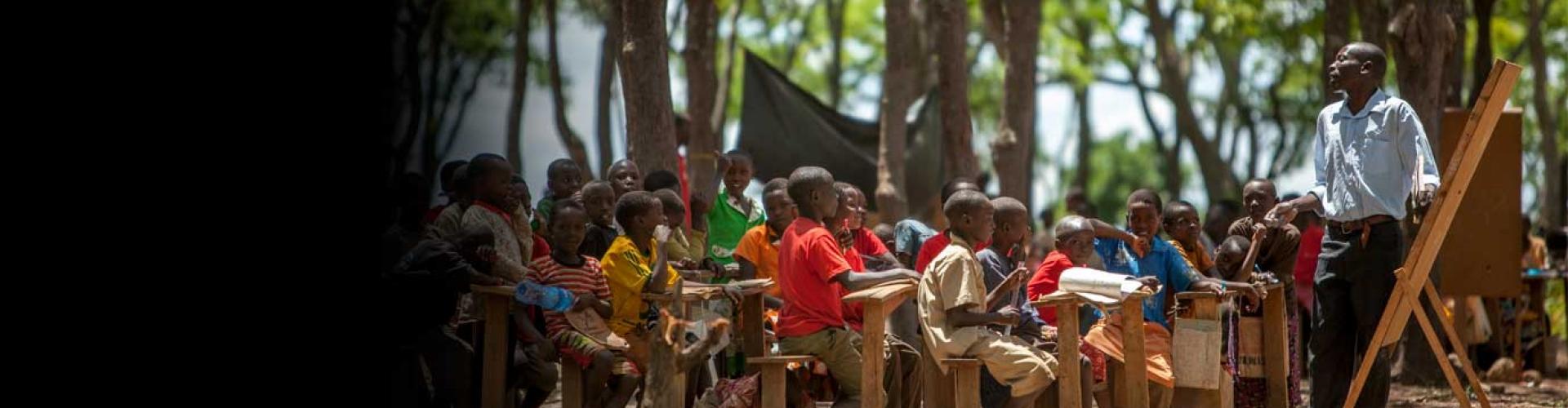 รายงานจาก UNHCR เผย เด็กผู้ลี้ภัยหลายล้านคนไม่มีโอกาสทางการศึกษา