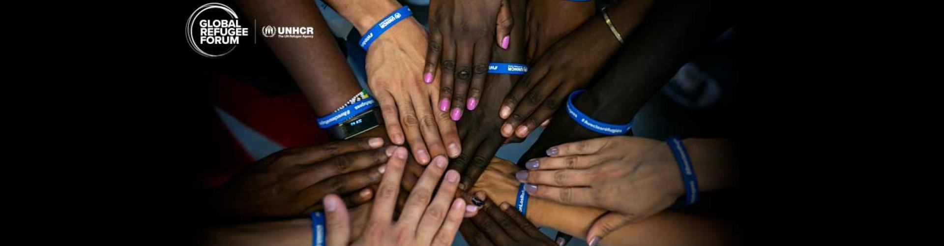 การจัดประชุมระดับโลกครั้งแรกว่าด้วยเรื่องผู้ลี้ภัย จัดขึ้นในวันที่ 17 และ 18 ธันวาคม พ.ศ. 2562 ณ ปาเล เด นาซีออง นครเจนีวา