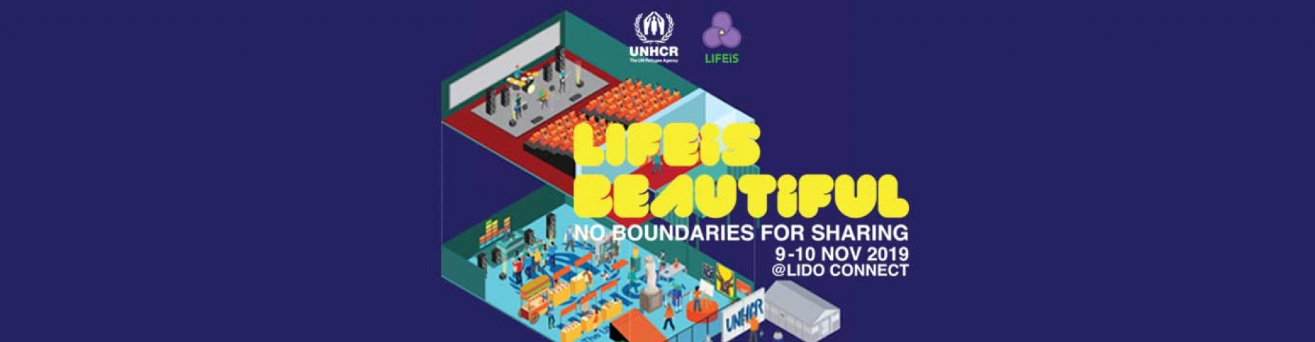 LIFEiS BEAUTiFUL - No boundaries for sharing | Charity LiFESTYLE EVENT