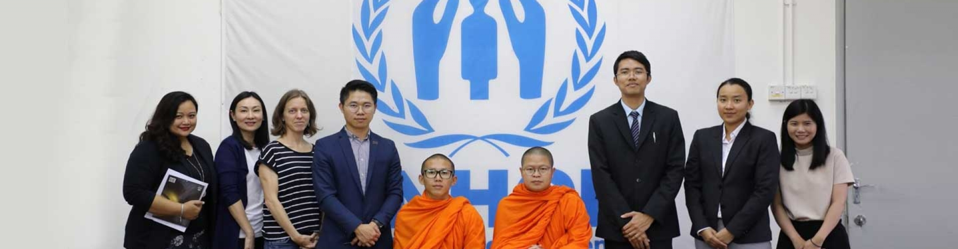 The Venerable Vudhijaya Vajiramedhi (V. Vajiramedhi), supporter of Nobody Left Outside Campaign, travelled to UNHCR Malaysia.