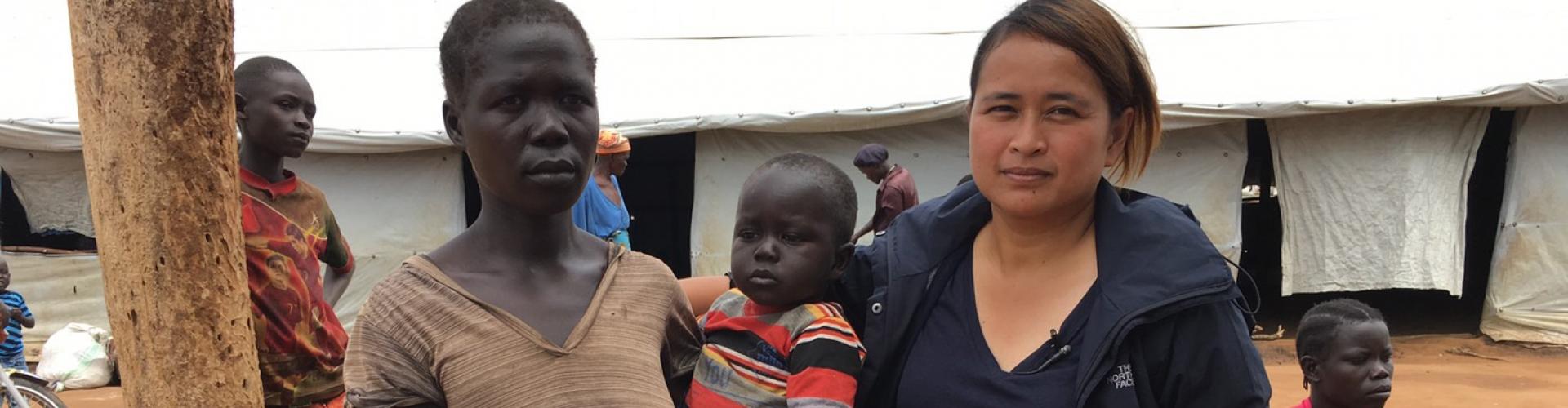 วิกฤติผู้ลี้ภัยซูดานใต้:สงครามและความอดอยาก:ข่าว 3 มิติ