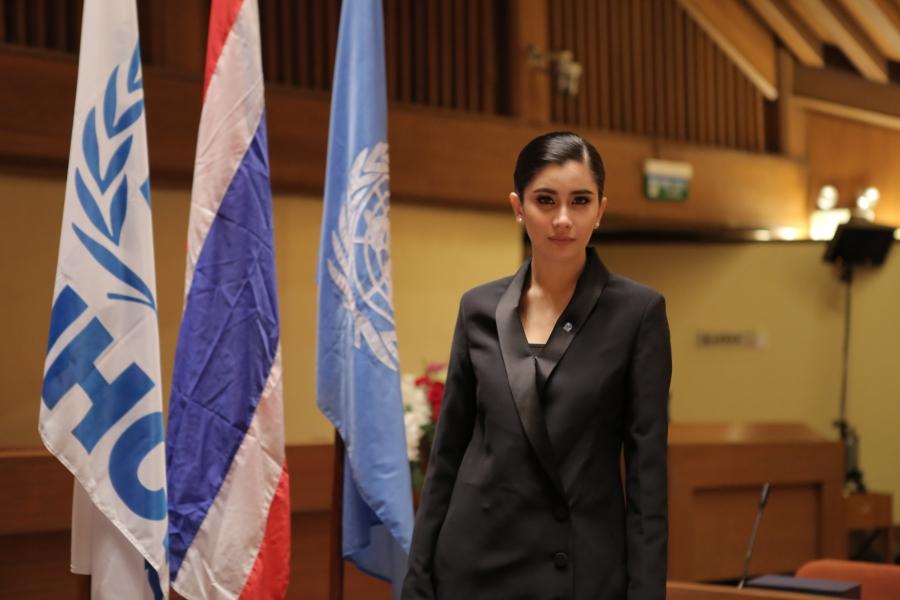 Praya Lundberg: UNHCR Thailand's Goodwill Ambassador