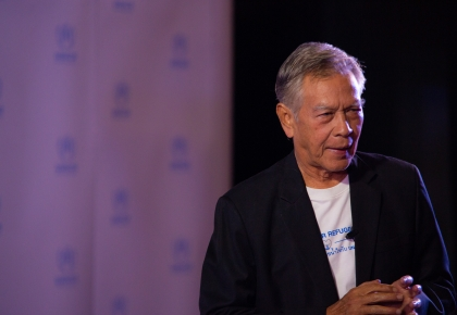 Nirut Talk for UNHCR ©UNHCR/Kosit Jitpiroj