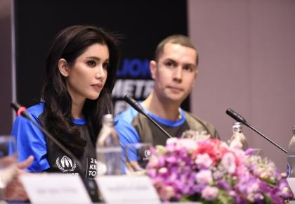 "UNHCR เปิดตัวแคมเปญระดับโลก ""2 พันล้านกิโลเมตรเพื่อผู้ลี้ภัย"" เชิญชวนคนไทยร่วมยืนหยัดเคียงข้างผู้ลี้ภัย ©UNHCR/Somkiat Jaraspat"