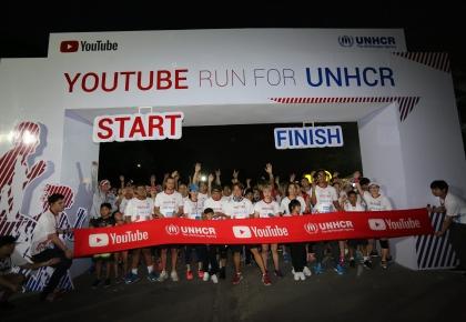 YouTube Run for UNHCR