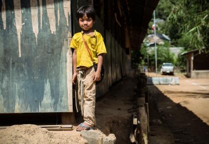เด็กผู้ลี้ภัยบ้านต้นยาง
