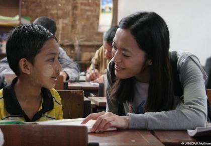 เหยา เฉิน ทูตสันทวไมตรี UNHCR ผู้ลี้ภัย ประเทศไทย