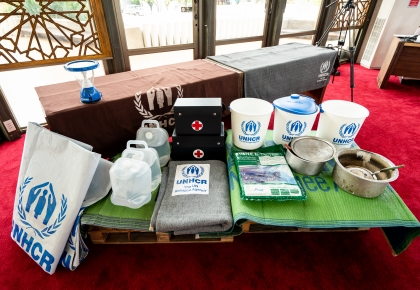 UNHCR reveals Zakat Initiative and continues the second year's partnerships with Sheikhul Islam Office to support refugees during Ramadan. ©UNHCR/Peerapong Kotarasu