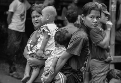 Refugee at Ban Don Yang refugee camp