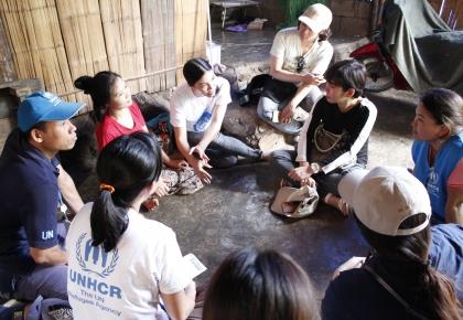 เยี่ยมค่ายผู้ลี้ภัยถ้ำหิน จังหวัดราชบุรี