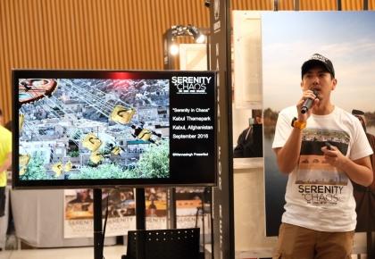 """นิทรรศการเรื่องเล่าผ่านภาพถ่าย Serenity in Chaos"""" Story exhibition by Wannasingh Prasertkul ©UNHCR"""
