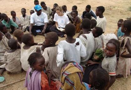 Goodwill Ambassador Angelina Jolie Refugee UNHCR Mission