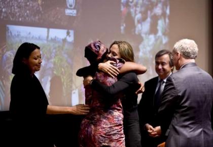 วันผู้ลี้ภัยโลก 20 มิถุนายน 2552 แองเจลิน่า โจลี่ UNHCR