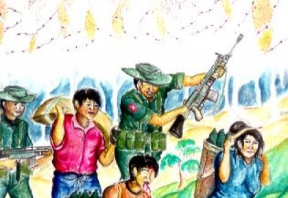 ภาพวาด ศิลปะ ผู้ลี้ภัย ประเทศไทย UNHCR