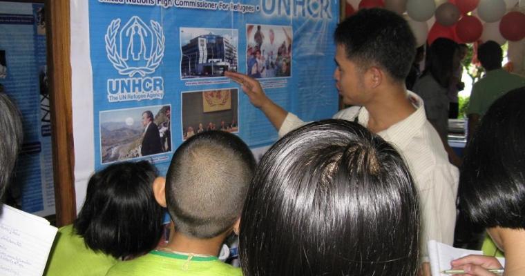 กิจกรรมวันผู้ลี้ภัยโลก โดยยูเอ็นเอชซีอาร์ภาคสนาม