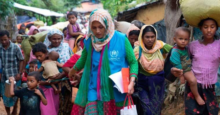 UNHCR มีเจ้าหน้าที่กว่า 11,000 คน ซึ่งส่วนมากทำงานอยู่ในพื้นที่ วันนี้เราขอพาทุกคนไปพบกับชีริน อัคทาร์ เจ้าหน้าที่ฝ่ายความคุ้มครอง ซึ่งทำงานในประเทศบังคลาเทศ