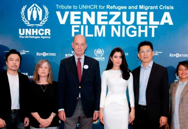 UNHCR, Praya Lundberg and media partners debut documentaries and take part in a special talk on the Venezuela refugee and migrant crisis