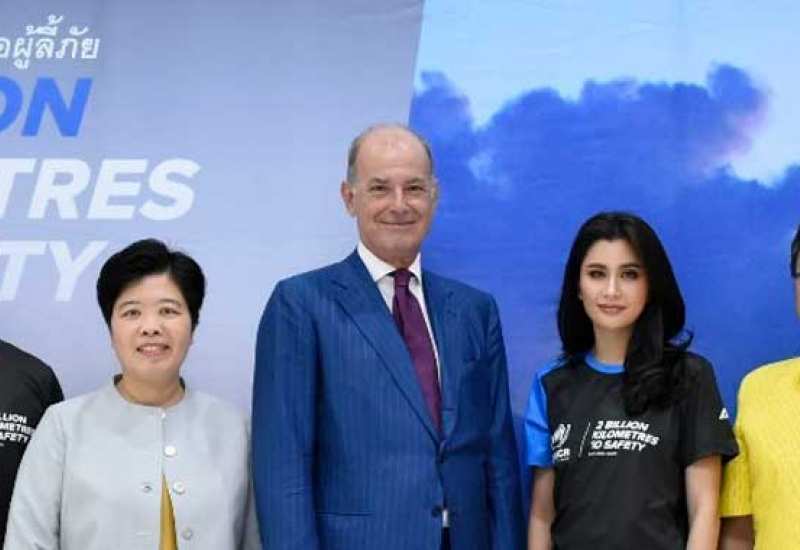 "UNHCR invites Thai public to step in solidarity with refugees in ""2 Billion Kilometres to Safety"" Campaign"