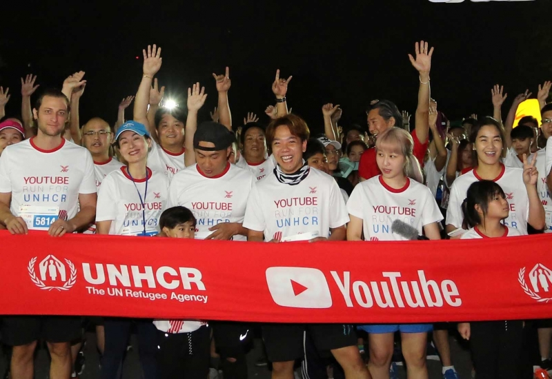 YouTube Run for UNHCR
