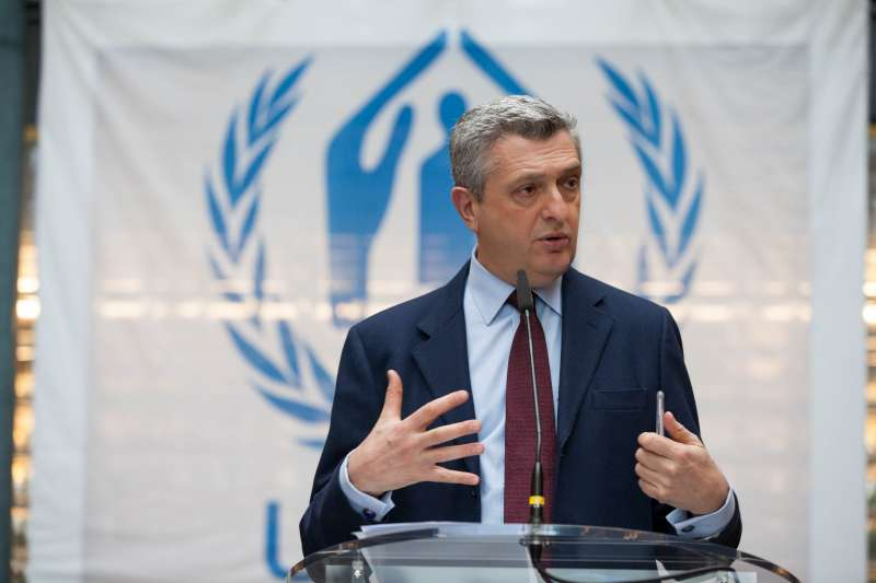 Filippo Grandi, the 11th United Nations High Commissioner for Refugees.