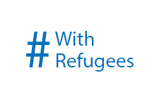 We stand together #WithRefugees. Please stand with us.